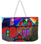Historic House Pop Art Weekender Tote Bag