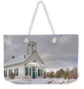 Historic Huffaker Schoolhouse Weekender Tote Bag