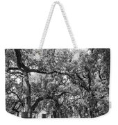 Historic Lane Bw Weekender Tote Bag