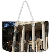 Historic Limestone County Courthouse In Athens Alabama Weekender Tote Bag