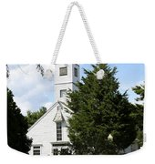 Historic Mystic Church - Connecticut Weekender Tote Bag