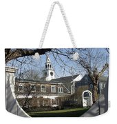 Historic Nantucket Church Weekender Tote Bag