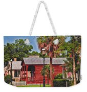 Historic Pensacola With Added Color Weekender Tote Bag