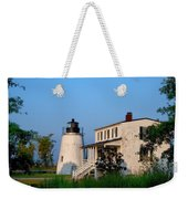 Historic Piney Point Lighthouse Weekender Tote Bag