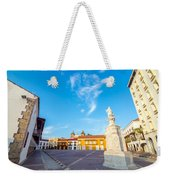 Historic Plaza In Cartagena Colombia Weekender Tote Bag