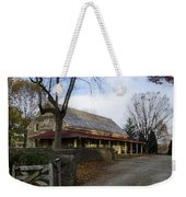 Historic Plymouth Meeting Friends Weekender Tote Bag by Bill Cannon