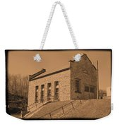 Historic Power Sepia Weekender Tote Bag