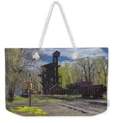Historic Railroad Weekender Tote Bag