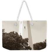 Historic Sandy Hook Lighthouse Weekender Tote Bag