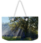 Historic Sibley Cemetery At Fort Osage Missouri Weekender Tote Bag