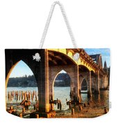 Historic Siuslaw River Bridge Weekender Tote Bag