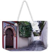 Historic Street At Albaycin In Granada' Weekender Tote Bag