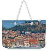 Historic Town Of Sibenik Panorama Weekender Tote Bag