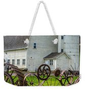 Historic Uniontown Washington Dairy Barn Weekender Tote Bag