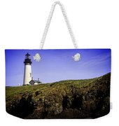 Historic Yaquina Lighthouse Weekender Tote Bag