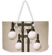 Historic Ybor Lamp Posts Weekender Tote Bag