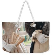 Historical Couple Arm In Arm Weekender Tote Bag