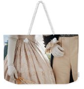 Historical Couple Linking Arms Weekender Tote Bag