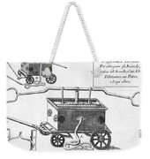 Historical Fire Engine 1728 Weekender Tote Bag