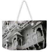 The History Of Rajasthan Weekender Tote Bag