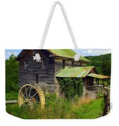 Historical Whites Mill Weekender Tote Bag by Karen Wiles