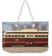 History Of The Toronto Streetcar Weekender Tote Bag