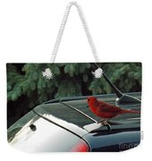 Hitching A Ride Weekender Tote Bag