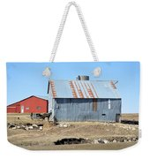 Hitching The Wagon Weekender Tote Bag