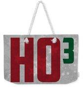 Ho Ho Ho Have A Very Nerdy Christmas Weekender Tote Bag