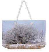 Hoar Frost Weekender Tote Bag
