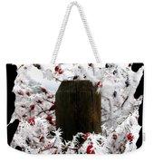 Hoarfrost 17  Weekender Tote Bag