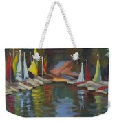 Hobie Cats At Lake Arrowhead Weekender Tote Bag