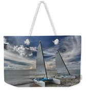 Hobie Cats On The Caribbean Weekender Tote Bag