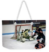 Hockey Off The Handle Weekender Tote Bag