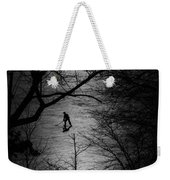 Hockey Silhouette Weekender Tote Bag