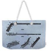 Hockey Stick Patent Weekender Tote Bag