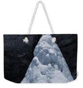 Hocking Hills State Park In Winter Weekender Tote Bag by Dan Sproul