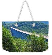 Hoffstadt Creek Bridge To Mount St. Helens Weekender Tote Bag