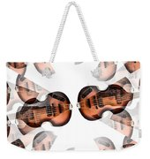 Hofner Bass Abstract Weekender Tote Bag