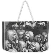 Hogarth: Physicians, 1736 Weekender Tote Bag