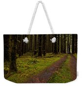Hoh Rainforest Road Weekender Tote Bag