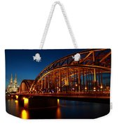 Hohenzollern Bridge Weekender Tote Bag