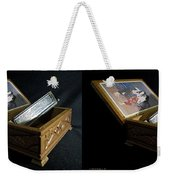 Hohner Chromonica - Cross Your Eyes And Focus On The Middle Image Weekender Tote Bag