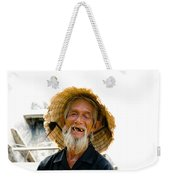 Hoi An Fisherman Weekender Tote Bag by David Smith