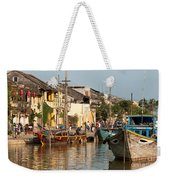 Hoi An Fishing Boats 02 Weekender Tote Bag