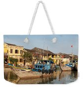 Hoi An Fishing Boats 03 Weekender Tote Bag
