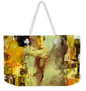 Hold Me Tight Weekender Tote Bag by Kurt Van Wagner
