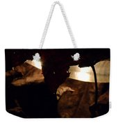 Holding On To The Light Weekender Tote Bag