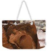 Hole-in-one Rock Weekender Tote Bag