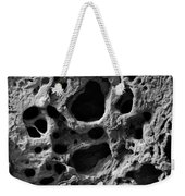 Holes Of Time Weekender Tote Bag by Riad Belhimer